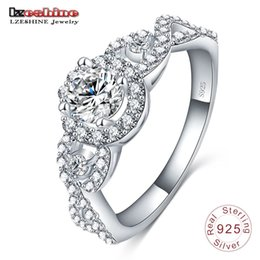 discount name wedding rings lzeshine engrave name free 2016 new collection 925 sterling silver brilliant stackable - Wedding Rings On Sale