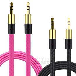 discount mini jack wiring 2017 mini jack wiring on at 2017 mini jack wiring 3 5mm stereo audio aux cable braided woven fabric wire auxiliary cords