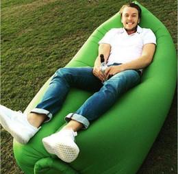 Sofá inflable rápido del sofá que acampa que duerme la bolsa perezosa de la silla Nylon Hangout silla de la cama de la playa del aire CouchFast