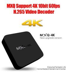 2017 youtube free 1pcs MXQ 4K RK3229 Wifi TV Box 1GB 8GB Quad Core IPTV Kodi 16.1 Kitkat WIFI Airplay Miracast TV Box Free DHL