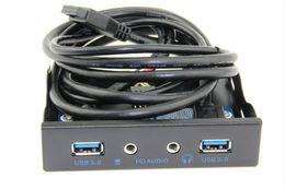 USB 3.0 3.5mm Metal Front Panel Connecteur d'alimentation Hub USB Connecteur 20 broches Câble adaptateur 2 pi