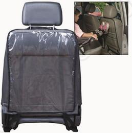 Car Seat Back Protectors Capa Para Crianças Cães Kick Mat Mud Clean Auto 2 Cores OOA1187