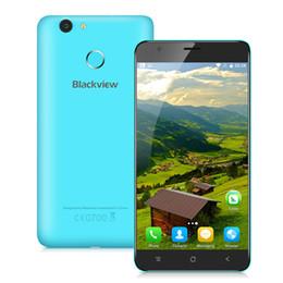 "Discount dual sim e7 phone Blackview E7 Mobile Phone Android 6.0 4G LTE 5.5"" MTK6737 Quad Core 1GB RAM 16GB ROM Fingerprint ID 8MP CellPhone"