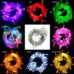 Connectable Outdoor Christmas Lights: 2017 connectable outdoor christmas lights Wholesale-connectable 10M 50Leds  Led string lights fairy christmas lights,Lighting