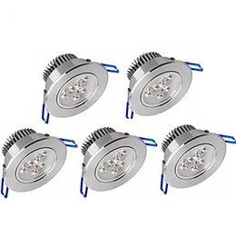 6W 500-550LM Apoyo Dimmable LED Panel Lights Luces de techo LED