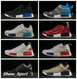 Adidas Originals NMD City Sock Black Vintage White OG Primeknit Supreme  Nice Kicks Triple Black Women Men Nmds Runner R1 Running Shoes