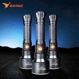 LED lampe de poche CREE XP-E LED 500M torche tactique de chasse de lumière lampe de poche rechargeable police pour 18650 lampe