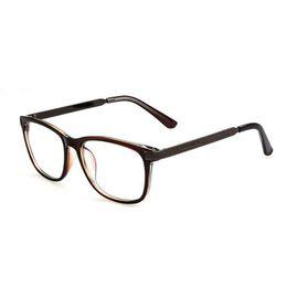 eyeglass lenses wkel  Wholesale- New Stylish Women Eyeglasses Eyewear Clear Lens Meral Leg Frame  Glasses H34