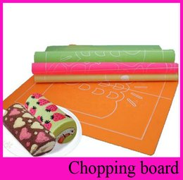 online shopping 4 Design x30cm Double Side Silicone Mold Pad Painted Roll Cake DIY Dessert Non slip Surface Baking Mat Cake Tool