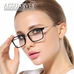 women eyeglasses optical fashion brand light prescription black vintage glasses frame 1802 korean red square clear lenses moypia new lenses