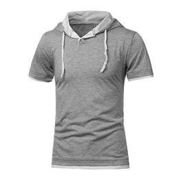 Discount Short Sleeve Hooded Sweatshirt Wholesale | 2017 Short ...