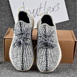 2017 Adidas Yeezy Boost 350 pirata tartaruga nero colomba Moonrock Oxford Tan Uomo Donna scarpe da corsa Kanye West Yeezy 350 yeezys stagione con la scatola
