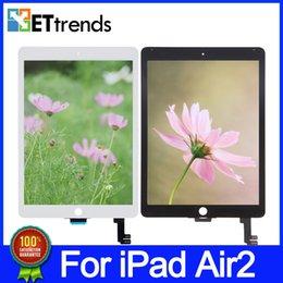 Дисплей замены для IPad воздуха 2 100% Оригинальный новый ЖК-экран Qualtiy ЖК-дисплей дигитайзера ЖК-дисплей Замена бесплатно DHL