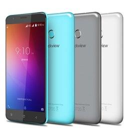 2017 dual sim e7 phone Original Blackview E7 MTK6737 Quad Core Cell Phones Android 6.0 HD 5.5 Inch Mobile Phone 1G RAM 16G ROM Fingerprint Smartphone