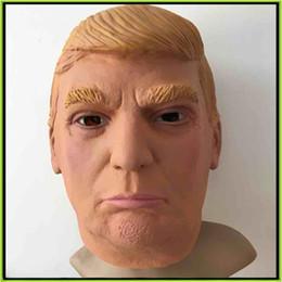 Président américain M.Donald Trump masque de latex masque de masque masque masque de fête Masque de Halloween masque de tête bonne qualité