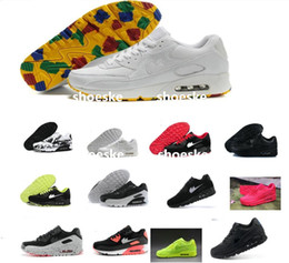 Discount shoes run air max New Classic Maxes 90 Running Shoes For Women & Men,Brand Air Soft Cushion Outdoor Sneakers Sports Shoes