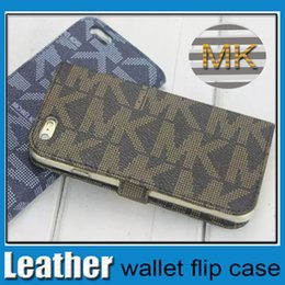 online shopping For Iphone M Cover Leather Wallet Card Slot Phone Flip Smart Case For iPhone Plus S SE S Samsung S7 Edge S6 Note DHL