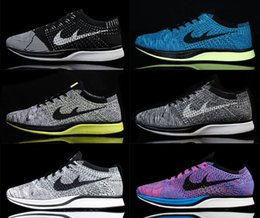 Alta qualidade Flywire Knit Racer Homens Mulheres Running Shoes oreo 2.0 Jogging Sneakers Multicolor Kids Athletic Shoes