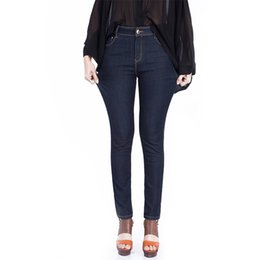Discount Dark Blue Skinny Jeans For Women   2017 Dark Blue Skinny ...