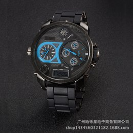 luminous dial mens watches online luminous dial mens watches for v6 super luxury quartz watch double led big dial watch mutifunctional mens business luminous wristwatch gift to male