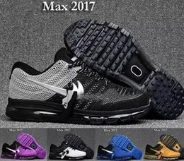 2017 black leather shoes [With Box]Cheap max KPU cushion sneaker Men running shoes maxes for mens size 13 shoes sneaker 40-47 cheap black leather shoes