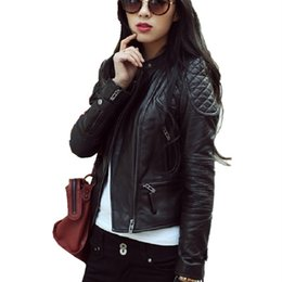 Discount Leather Coats Designs   2017 Leather Coats Designs on ...