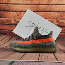 Wholesale 2017 Adidas Yeezy Boost V2 Beluga Sply Black White Men Women Running Shoes Kanye West Yezzy Boost Discount Online