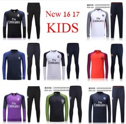 online shopping Christmas Children s Most Popular Gift Children s Football Club Real Madrid Training Wear Jogging Wear Sportswear Fast Shipping