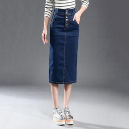 Discount Pencil Skirt Denim   2017 Womens Denim Pencil Skirt on ...
