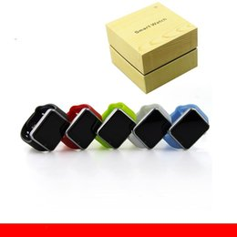 10 pcs 2017 A1 smart watch téléphone Smartwatch Bluetooth Wearable imperméable à l'eau Montres intelligentes pour Android Smartphone Smartwatch Camera VS GT08