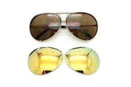 Discount woman uv sunglasses 2017 new luxury men women fashion UV protection summer style sunglasses interchangeable 2 sets lens 8478 sun glasses