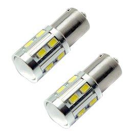 1156 BA15S 12 SMD лампы Cree светодиодных чипов высокой мощности лампы 21 / 9w водить автомобиль лампа стоп-сигналы Источник парковки Белый Красный Желтый 12V - 24V