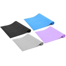 Discount workouts for body Wholesale-3mm Thickness Fitness Non Slip Yoga Mats Pad EVA Foam Gym Mats Sport Mat Pilates For Body Building Exercise Workout