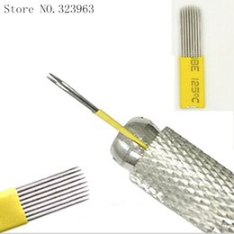 Wholesale RM Permanent Makeup Eyebrow Tatoo Blade Microblading Needles For D Embroidery Manual Tattoo Pen Machine