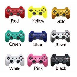PS3 Wireless Bluetooth Game Controller para PlayStation 3 PS3 Game Multicolor Joystick controlador para Android Games com Embalagem