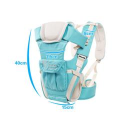 Детская безопасность Перевозчики Pretty Baby Многофункциональный Слинг Baby Удобный механизм Wrap Перевозчик рюкзак сумка дети хлопок Hip сиденье бесплатная доставка