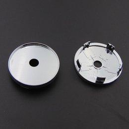 Универсальный Chrome Пустой ступица колеса Центр Caps 60мм / 2 3/8