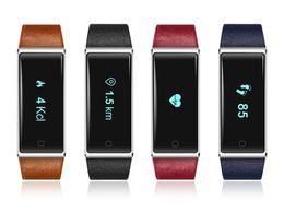 online shopping Koogogo QS60 Innovation Heart Rate Smart Band ECD Monitoring Vibrate Fitness Smart Bracelet Sleep Tracker OLED Touch Panel Waterproof