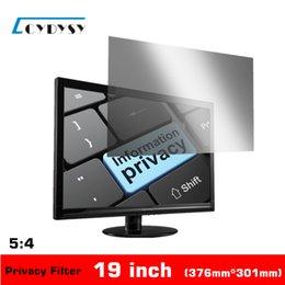 3M качества 19 дюймов экран конфиденциальности Anti-glare для 5: 4 Standardscreen Desktop Computer / ПК мониторы Фильтр конфиденциальности 376mm * 301mm