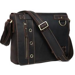 Discount Mens Laptop Messenger Bags | 2017 Mens Leather Laptop ...