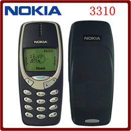 2017 cheap keyboards Hot sale Original Nokia 3310 Unlocked Refurbished GSM 900   1800 2G 900mAh Support Russian &Arabic Keyboard Cheap old mobile phone