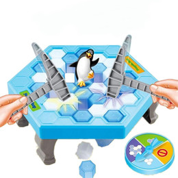 2017 great games Ice Breaking Hammer Penguin Toys Great Family Fun Game Toys Cute Save Animal Toys for Kids cheap great games