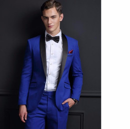 Royal Blue Tailored Suit | My Dress Tip