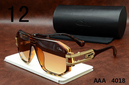 cazal sunglasses 4018 brown frame orange lenses sunglasses brand designer cazal eyewear frames mens womens retro polarized lens