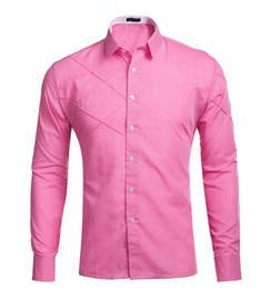 Discount Hot Pink Mens Dress Shirts | 2017 Hot Pink Mens Dress ...