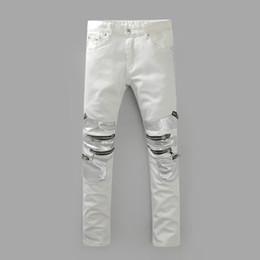 Discount White Designer Jeans | 2017 White Designer Jeans For Men ...