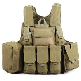 Phantom Тактический военный удар Battle Combat Airsoft Molle Пуля Штурмовая несущая пластина Vest Легкий Комфортная 10 Цвет Горячий + B