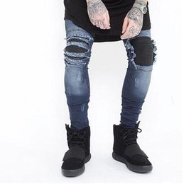 Discount Black Ripped Knee Skinny Jeans | 2017 Black Skinny Jeans ...