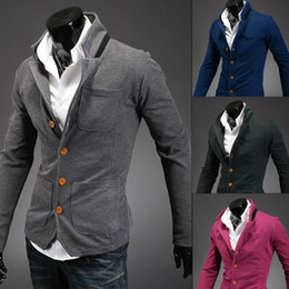 Discount Stand Color Blazer | 2017 Stand Color Blazer Men on Sale ...