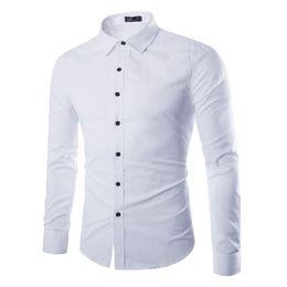 Discount White Dress Shirt Men Design - 2017 White Dress Shirt Men ...